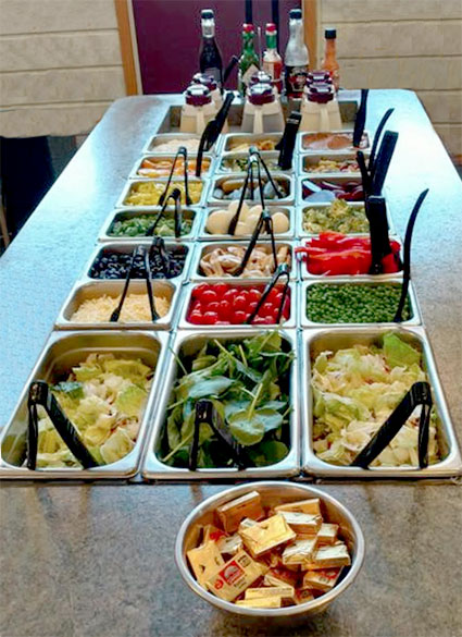 Harry's Place Salad Bar
